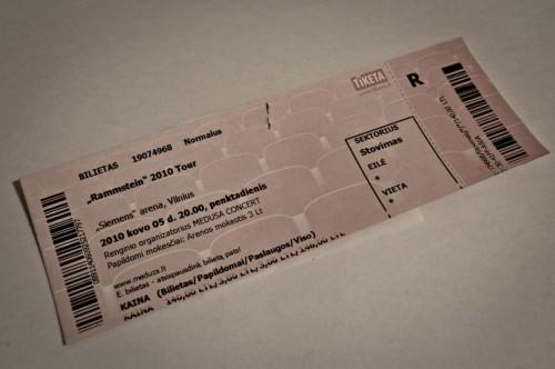 Rammstein Lietuvoje – 2010 Tour