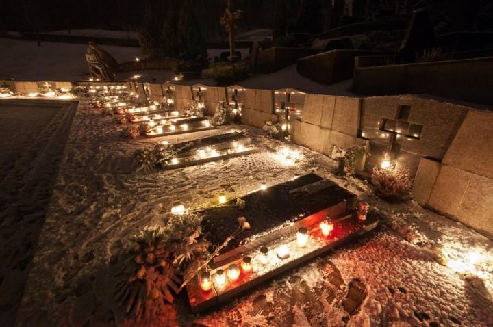 Sausio 13-osios minėjimas Antakalnio kapinėse, 2012
