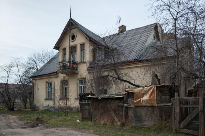 Apleistas namas Ceikinių gatvėje