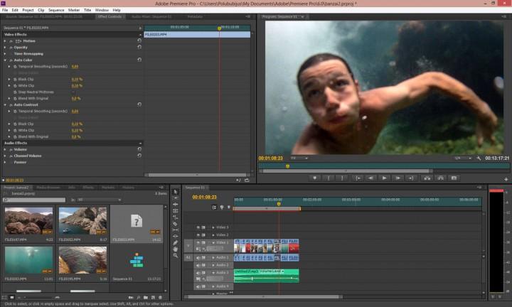 Video montavimas su senu kompiuteriu