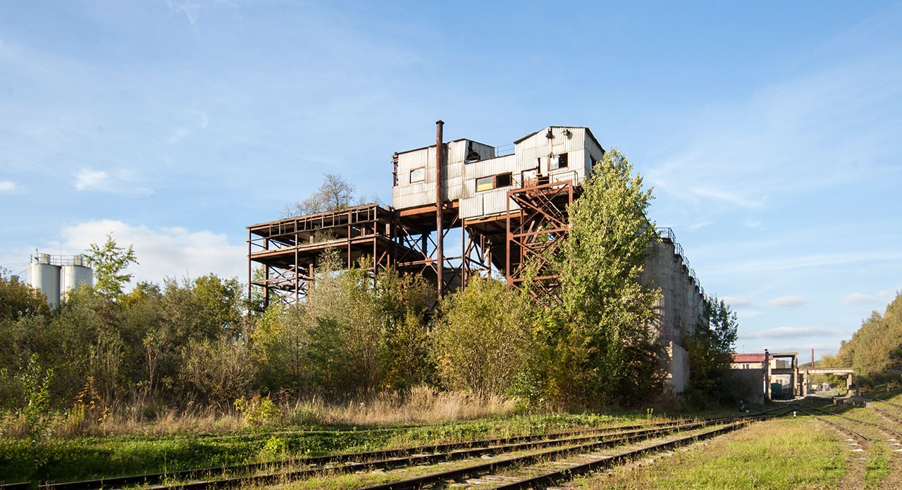Dalinai veikianti Betono gamykla